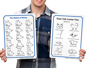 Funny Cat Signs