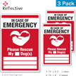 Pet Rescue Reflective Label Set