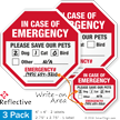 Pet Alert Label Set