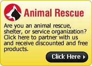 Non Profit Pet Rescue Stickers